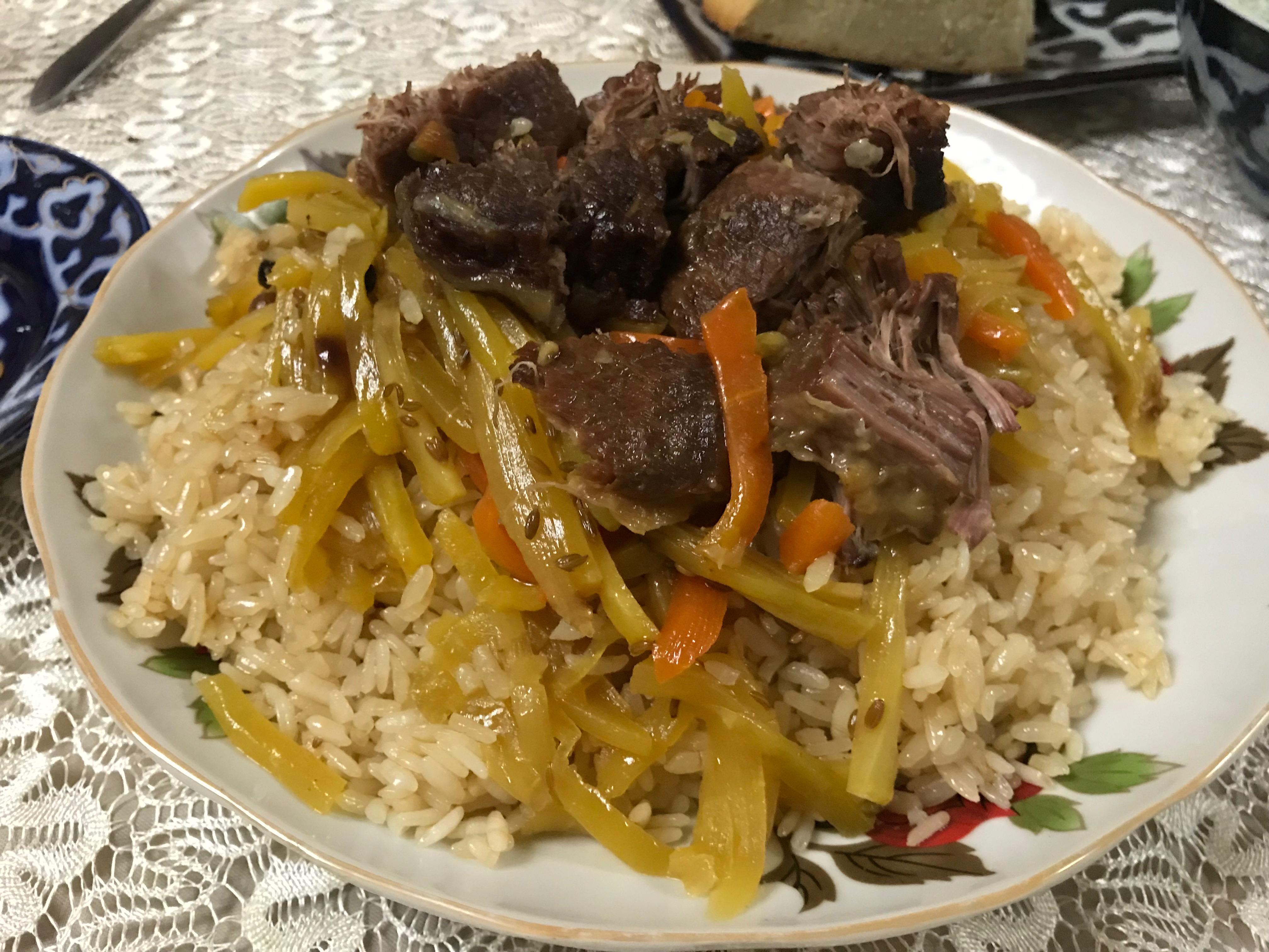 ウズベキスタン 料理